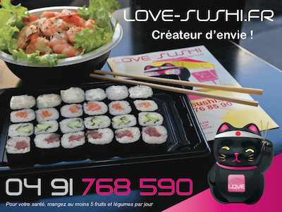 Ouvrir Franchise Love Sushi