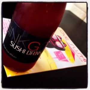 Ginkgo Drink Love Sushi